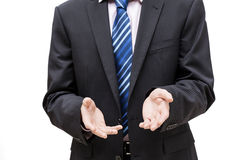 Encouraging business person Stock Photo