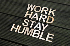 Encouraging words Stock Photo