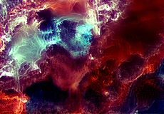 Encre d'alcool, acrylique, fond abstrait color? d'aquarelle illustration libre de droits