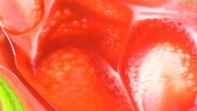 Encre de couleur de nourriture d'abrégé sur courant avec le fond mobile ou débordant 2 d'huile