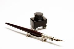 Encre et crayon lecteur Images stock