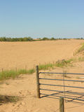 Encroaching Desert Sands. Defy fencing or property lines with their relentless movement Stock Photography