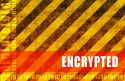 encrypté Images libres de droits