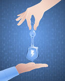 Encrypted Key Exchange Stock Images