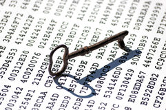 Encryption key concept Stock Photos