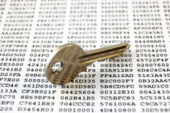 Encryption keys Royalty Free Stock Photography