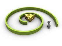 Encuentre el queso Imagen de archivo libre de regalías