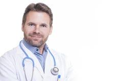 Encuentre a su médico Imagen de archivo libre de regalías