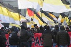 Encuentro para las elecciones justas 2/4/2012 Foto de archivo