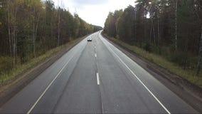 Encuesta a?rea de carreteras almacen de video