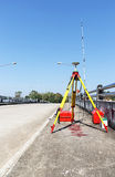 Encuesta sobre GPS, sistema de navegación mundial Fotografía de archivo