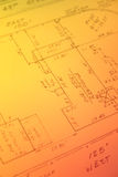 Encuesta sobre propiedades inmobiliarias foto de archivo libre de regalías