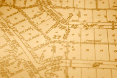 Encuesta sobre propiedades inmobiliarias Fotografía de archivo libre de regalías