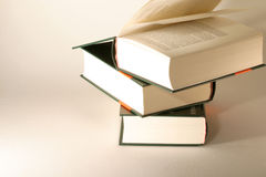 Encyclopedia. Series of big books Stock Images