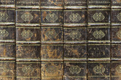 Encyclopedia. Books from the early 19th century royalty free stock photography