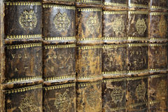 Encyclopedia. Books from the early 19th century royalty free stock images