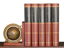 Encyclopedia on Shelf Stock Images