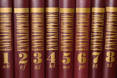 Encyclopedie Stock Afbeeldingen