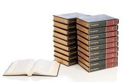 encyklopedie ustawiają Zdjęcia Stock
