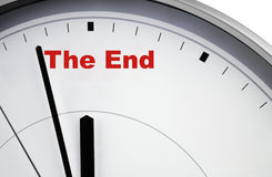 The end Stock Photos