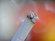 End of cigarette Stock Image