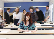 End of Class Royalty Free Stock Photo