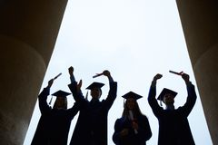 End of college Royalty Free Stock Photography