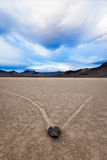 End of Days, Race Track, Death Valley Stock Images