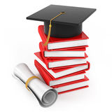 The end of the educational process Royalty Free Stock Photos