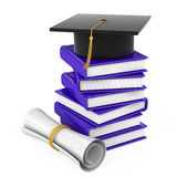 The end of the educational process Stock Photos