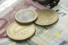 The end of Euro Stock Photo