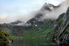End of a fjord Stock Photography