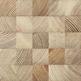 End grain wood texture Royalty Free Stock Photography