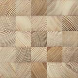 End grain wood texture. Seamless end grain wood texture. Cross cut lumber blocks royalty free stock photography