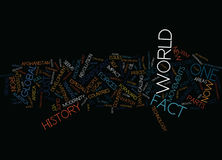 End Of History Not Quite Word Cloud Concept. End Of History Not Quite Text Background Word Cloud Concept Stock Image