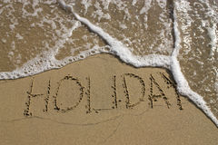 End of holiday Stock Photo