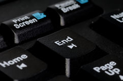 End key stock photos