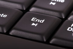 End Key Royalty Free Stock Photography