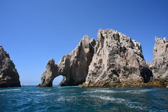 The end of land cabo Royalty Free Stock Photos