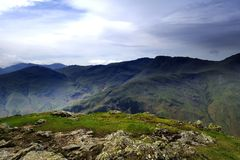 End of the Langdale Valley Stock Photography