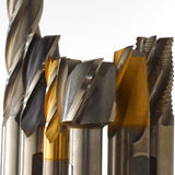 End Mills Royalty Free Stock Images