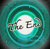 The end Movie ending Royalty Free Stock Photo