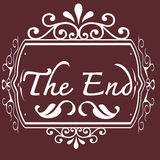 The end Movie Stock Images
