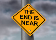 The End Is Near Stock Photo