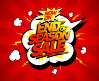Free End Of Season Sale Poster Design Concept Stock Photos - 118476933