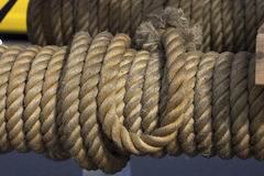 End of one's rope Royalty Free Stock Photo