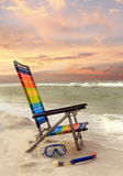The End of a Perfect Day at the Beach Stock Photography
