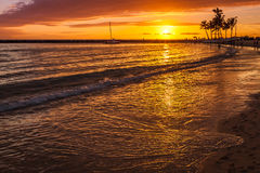 End of a perfect day Royalty Free Stock Photography