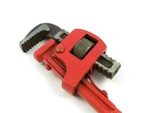 End pipe wrench Stock Images