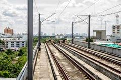 End railway station in Bangkok Stock Image